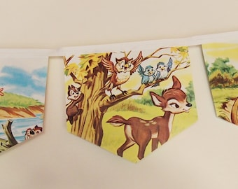 Little Hiawatha Story Book Bunting