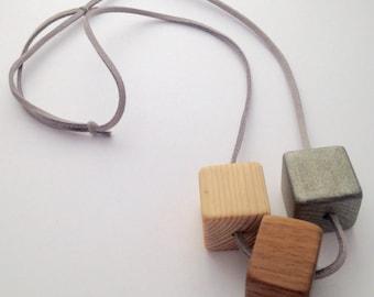 Metalic Bead Necklace