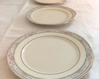 Lenox Bread or Dessert Plates Set of 4 Charleston