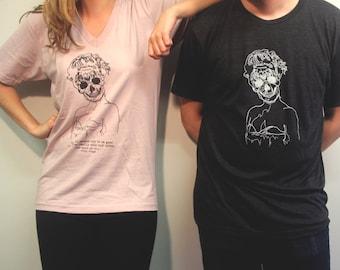 Twin Peaks Laura Palmer Skeleton T-Shirt Design (FINAL STOCK)