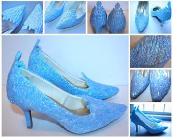 Adult Elsa Shoes || Heels/Flats