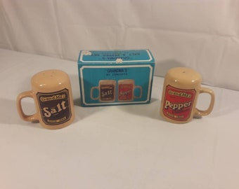 Vintage Grandmas Salt and Pepper Shakers