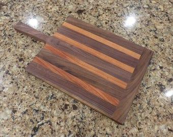 Black Walnut and Brazilian Mahogany Cutting Board