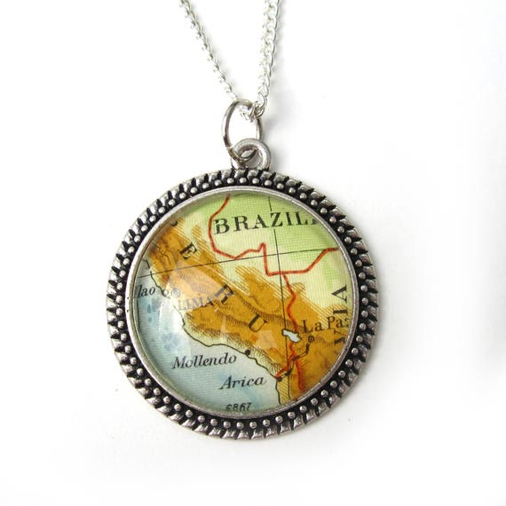 Necklace - Latin America variations 30 mm