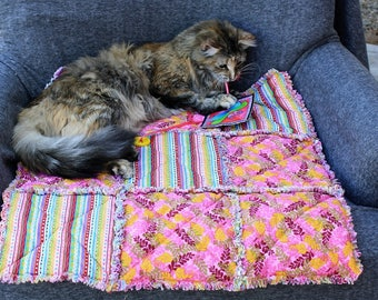 Pet Bedding, Pet Sofa Cover,Colorado Catnip Bedding, Washable Pet Bedding, Travel Pet Bed, Pet Crate Mat, Luxury Pet Bedding, Fabric Pet Bed