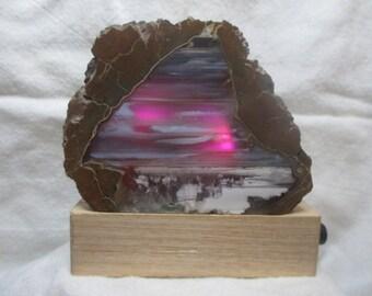 Pink Sky Thunder Egg