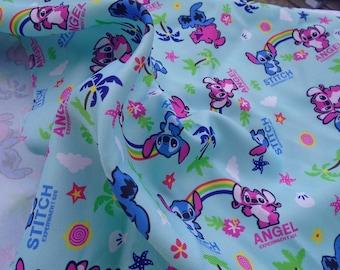 Pretty stitch /angle pattern Polyester fiber Fabric 48*145 cm 1/2 Y