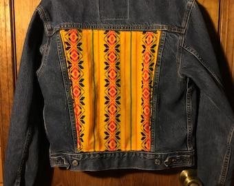 Vintage upcycled levis jacket