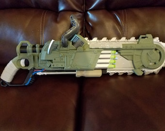"Modified Nerf Brainsaw Blaster – ""Clean-Cut"""