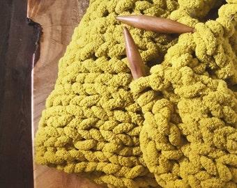 """25 mm Circular Knitting Needles, Bamboo Knitting Needles, 20"""" Cable, 25 mm wood needles,"""
