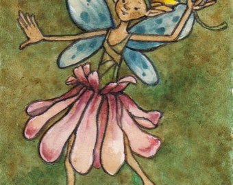 Dancing flower fairy