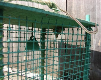 Antique Primitive French Inspired Finch / Canary Cage