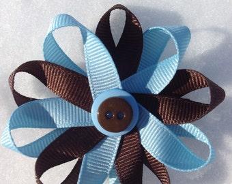 Brownie Scout Hair Clip