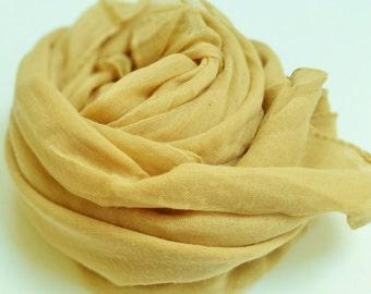 Plain Beige-Biscuit colour scarf/hijab