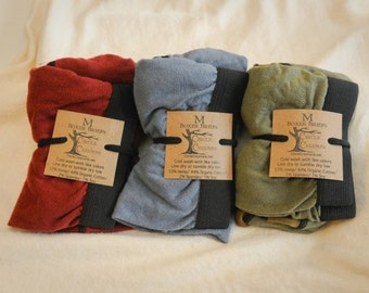 3 Pair Package Deal/Boxer Briefs Hemp and Organic Cotton