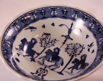 Bowl, decorative bowl, blue and white china, Chinese