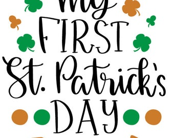 My First St. Patricks Day Onesie