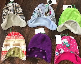 Fleece hat, medium, 2 to 5 yrs