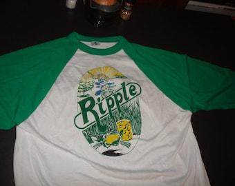 Ripple Baseball Shirt Grateful Dead Inspired