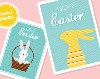SALE -50% off - Easter card #2- Instant download