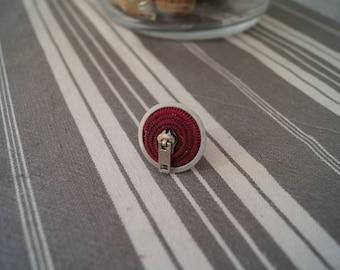 Ring pink zipper
