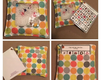 Speech Pathology I Spy Bags - many options