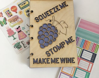Squeeze Me Refillable Journal