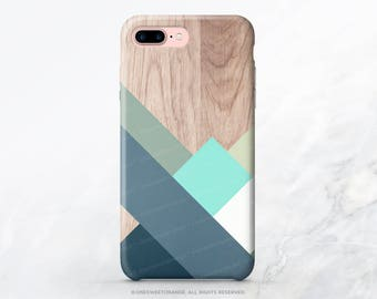 iPhone 8 Case iPhone X Case iPhone 7 Case Wood Geometric iPhone 7 Plus iPhone 6s Case iPhone SE Case Galaxy S7 Case Galaxy S8 Plus Case T206