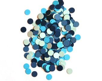 Small Blue Confetti - Party Confetti - Blue Confetti - Confetti - Blue - Baby Shower Confetti - Baby Boy