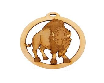 Buffalo Ornament - Buffalo Christmas Ornament - Buffalo Gifts - Personalized Free
