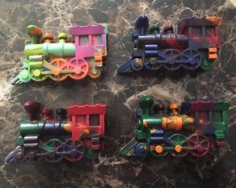 Train crayons