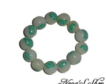 Nature, beaded bracelet model 1