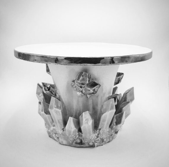 """Design-Your-Own: Crystal Cake Stand (10"""" Diameter)"""