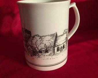 Scottland Bone China Mug by McLaggen Smith Mugs featuring St Mary the Virgin