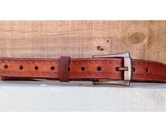 Leather Belt Handmade