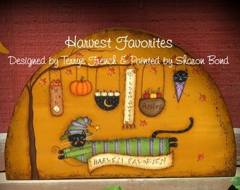 Harvest Favorites - Painted by Sharon Bond, Painting With Friends E Pattern