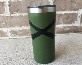 Army Green Tumbler w/ Decal