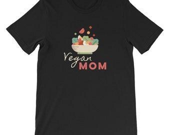 Vegan Mom Shirt - Veganism Healthy Eating Gifts for Mom Vegans Mothers Day Gift