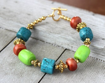 Womens Colorful Bracelet