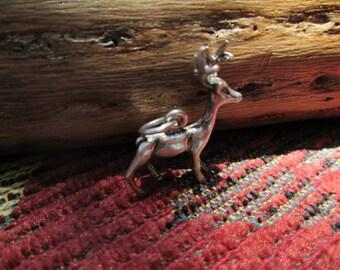Sterling Deer Charm