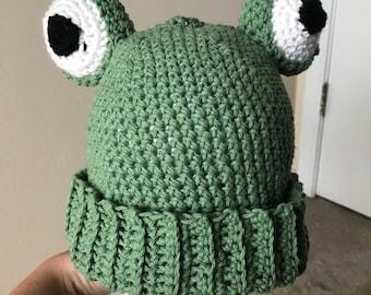 Frog Hat Beanie