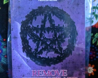 Remove Witchcraft - 1/2 oz  (14 g ) esoteric powder-sachet