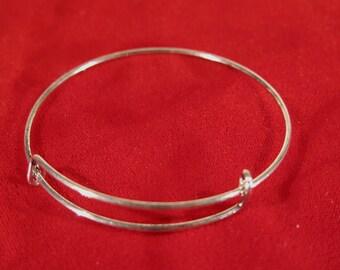BULK! 15pc antique style silver bangle bracelet (JC103B)