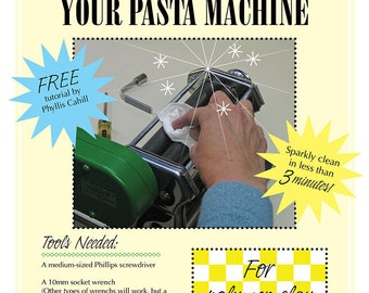 A Quick and Easy Way to Disassemble and Clean Your Pasta Machine PDF