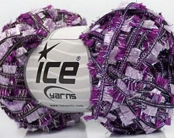 Wool / yarn 40m / 50g Purple