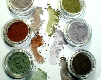 Eye Shadow Collection Office Camo Kit Mineral Makeup