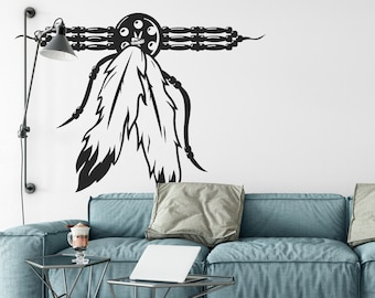 Native American Talisman wall decal, sticker, magical minds, Mystic collection, decor, stickers, dream, fantasy, mural, Culture, necklace