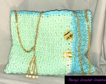 Handmade Crocheted Handbag