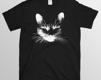 T-shirt de chat cat t-shirt tee