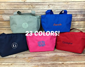 Personalized Lunch bag, Lunch bag, Lunch box, personalized, lunch, bag, box, monogram, monogrammed, custom, kids lunch bag, kids, boy, girl